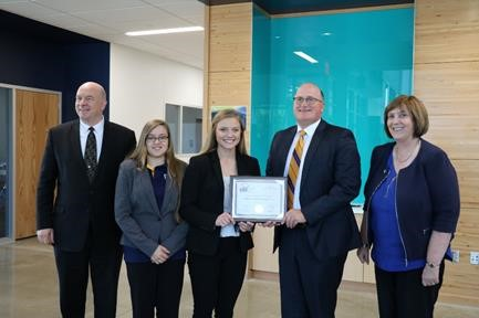 Award for Academic Excellence – The Phi Beta Lambda (PBL) Business Club