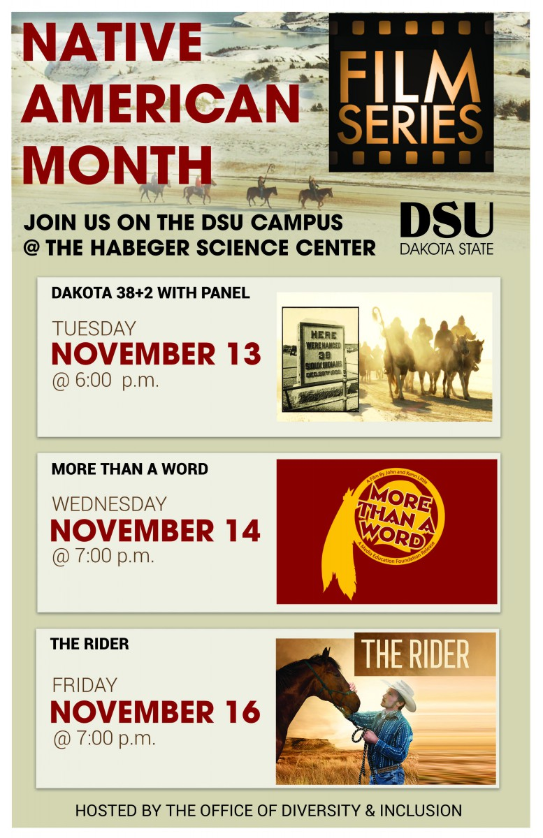 Native American Month Film Series